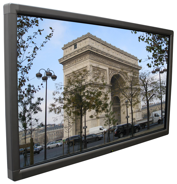 65 inch UHD touch screen display