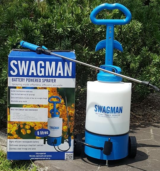 Win an 8L Swagman Sprayer!