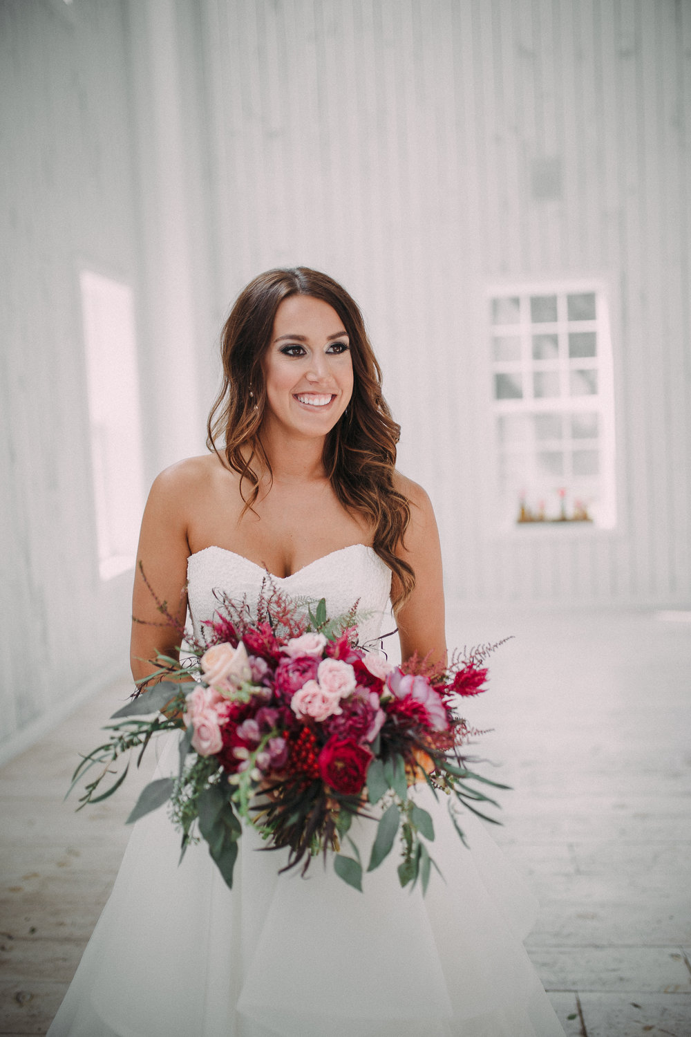 Check out Lauren and Ryan's at the White Sparrow barn below!