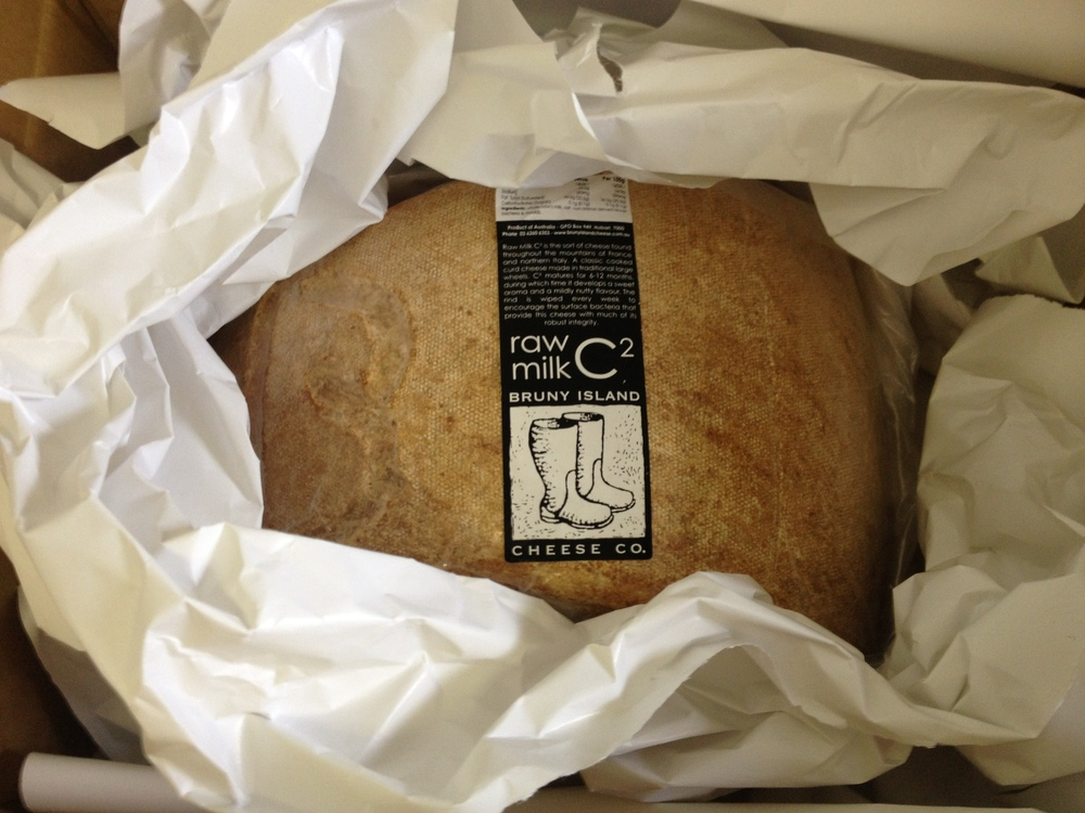 australia's only raw milk cheese off to Bra, Italy