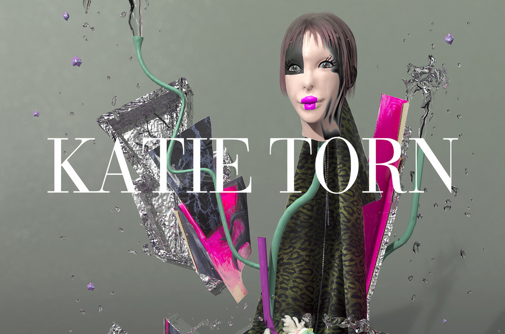 ART+DESIGN   Commenting on the effects of consumerist culture and excess, Queens-based Katie Torn creates unnerving, seductive images that oscillate between a physical and virtual reality.