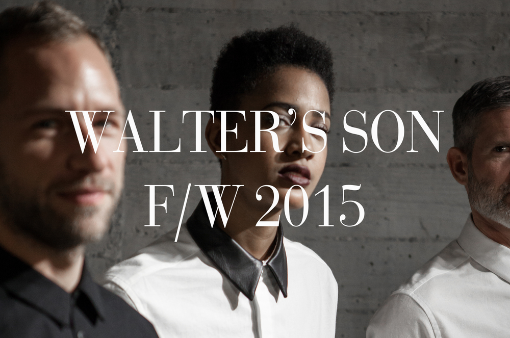 FASHION  Sourcing Japanese cottons and Quebec leather, Walter's Son showcased its F/W 2015 Shirting Collection at Litchfield on November 13th.  We were invited to the media presentation, where we got handsy with designer Kyle Parent's chemises.
