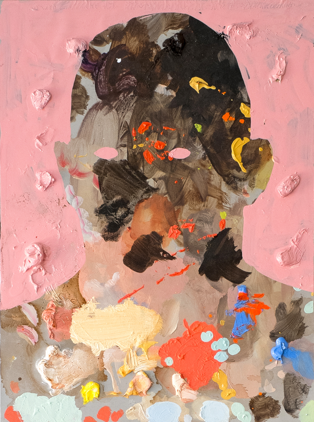 Untitled Palette Portrait II , Michael Reeder.