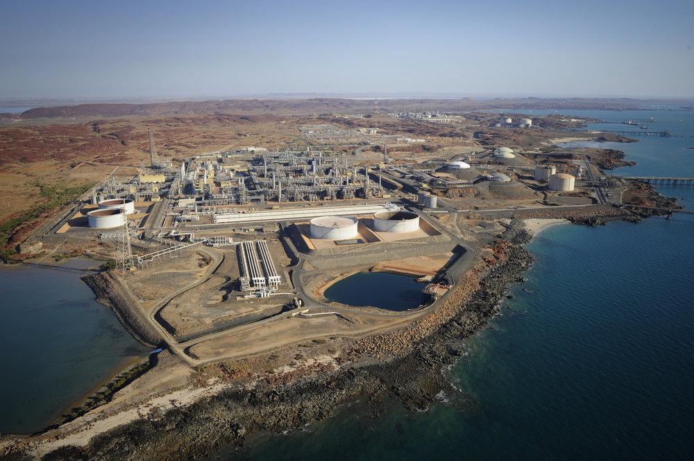 Karratha Gas Plant, North West Shelf Project, Western Australia, Woodside Energy Ltd.