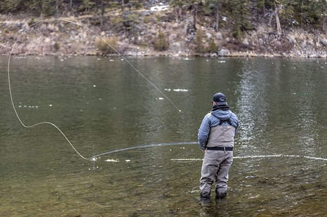 Sweep and drive  #rowanflyfishing #woodhandlerevolution #flyfishingjunkie #flyfishing #flyfish #flyrod #fishing #flyfishingnation #fishingtrip #troutporn #troutfishing #repyourwater