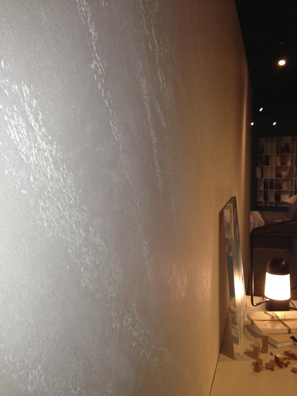 Stone Finish for Wall Travertino Romano Oikos — Italian Design Center Pte Ltd  Special Paint ...