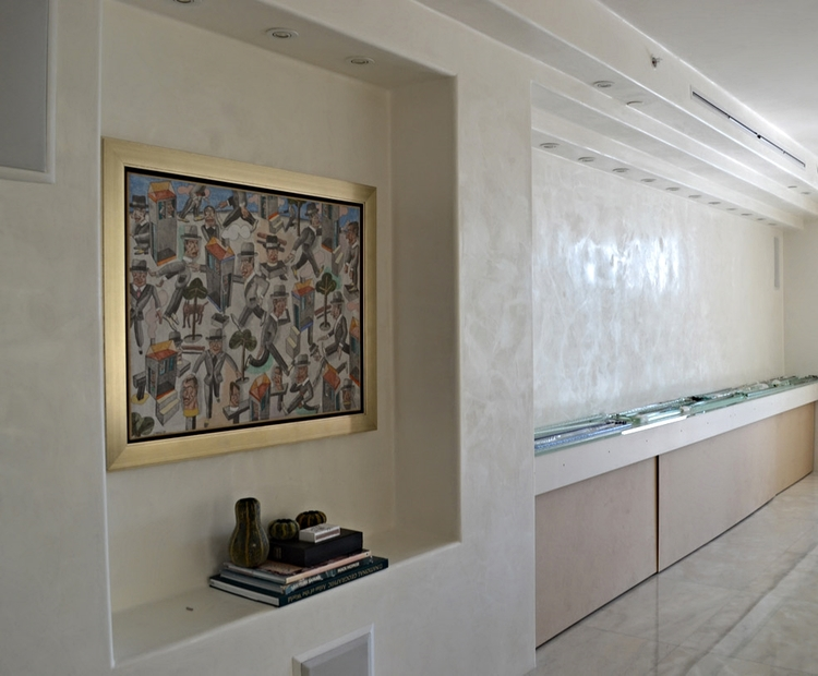 interior wall stucco with mother of pearl finish oikos italian