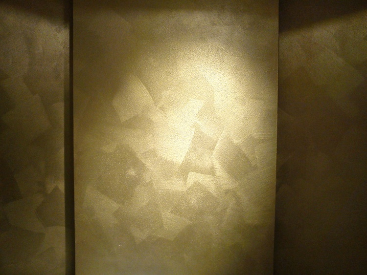 custom 10 metallic gold wall paint design ideas of best