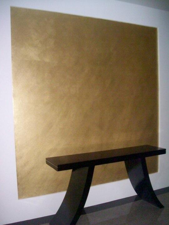 Custom 10 Metallic Gold Wall Paint Design Ideas Of Best 25
