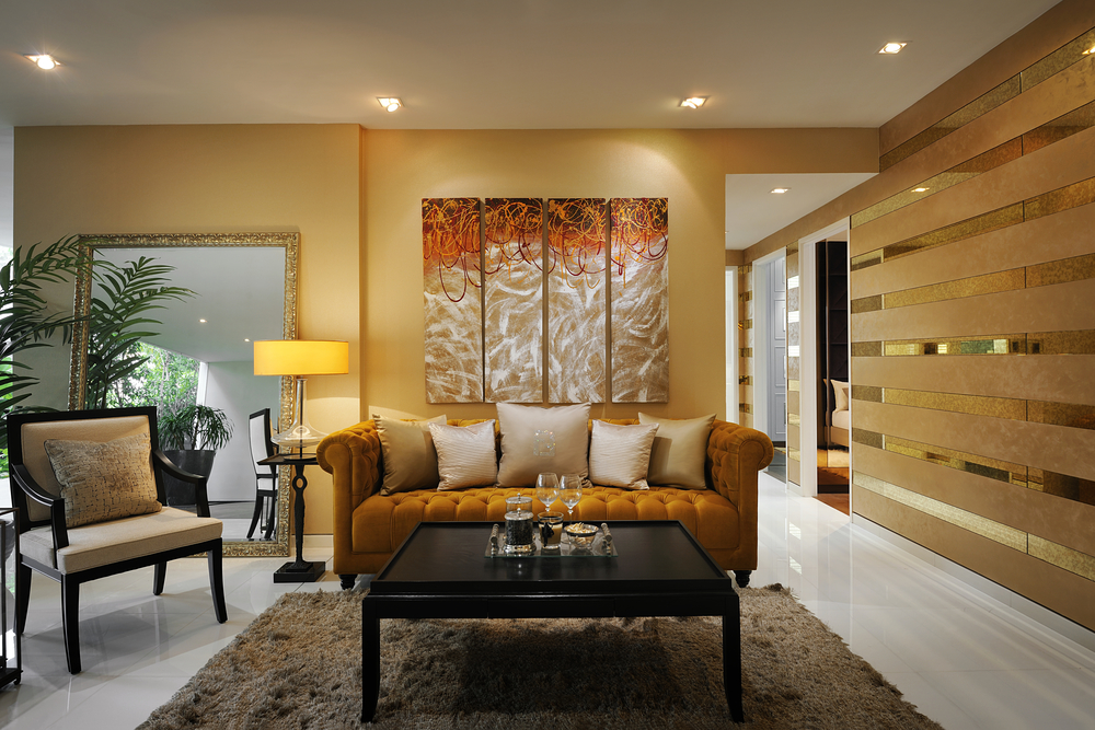 Beau Special Metallic Gold Paint For Wall Imperium Oikos By Italian Design  Center Pte Ltd Singapore