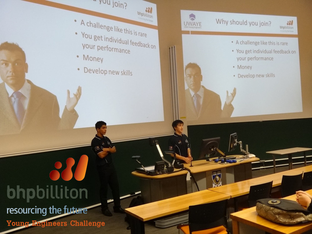 BHP Billiton Young Engineers Challenge