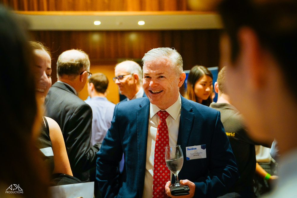"""The Industry Analysis night 2018 was very impressive and professional, better run than some corporate events I have attended."" - Kevin Gallagher - Managing Director and CEO of Santos"