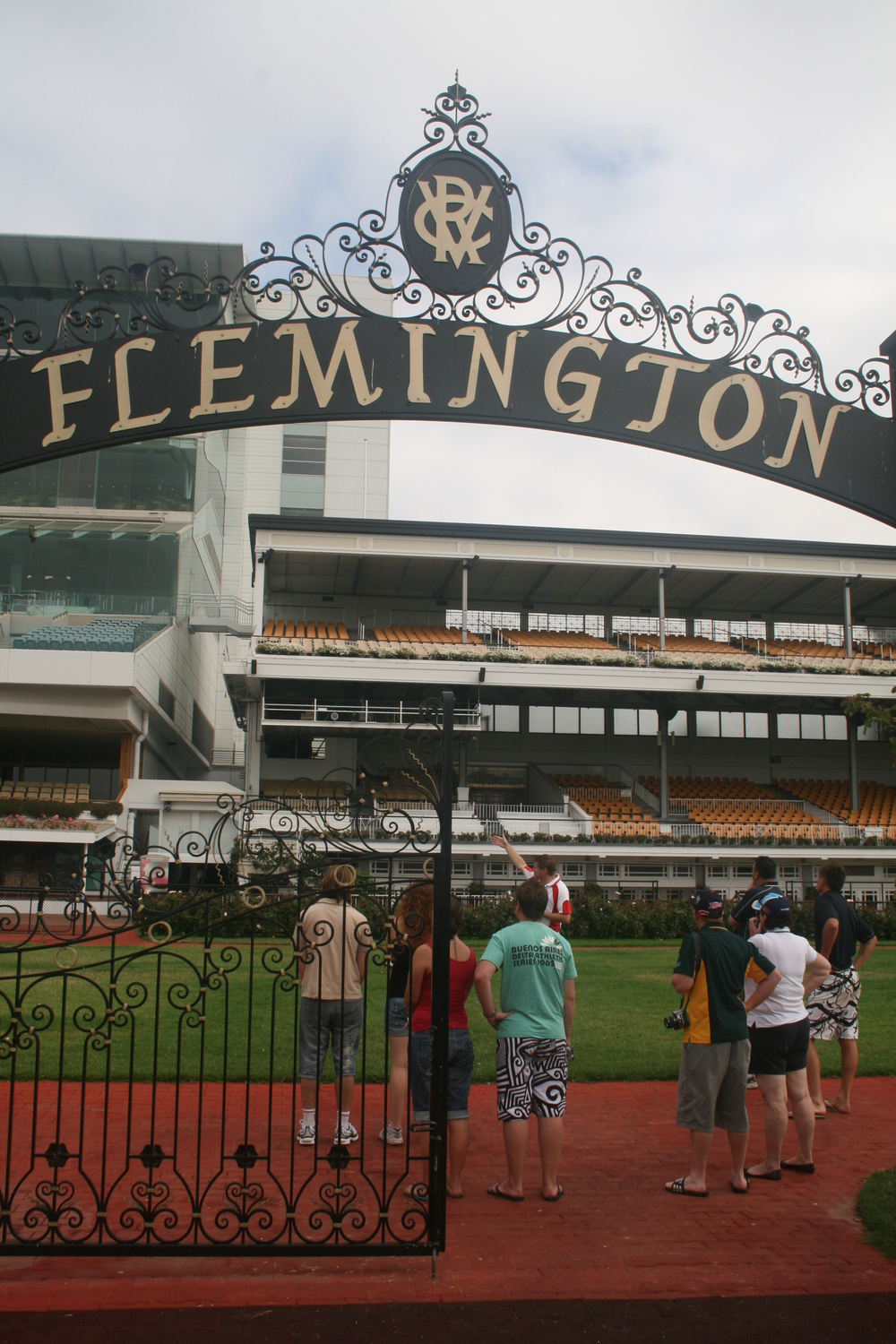 Flemington Feb 09 on tour 2.jpg