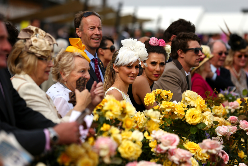 Flemington Melb Cup Day 2013 spectators.jpg