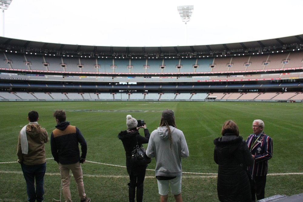 MCG hallowed turf