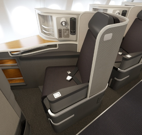 American Airlines First Class A321T