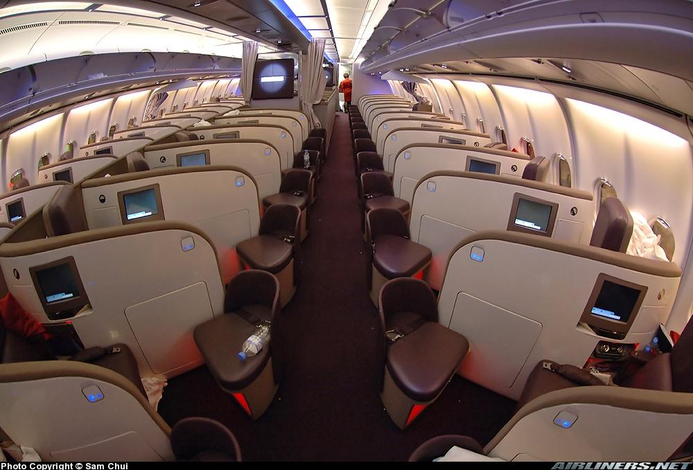 VS A340 Upper Class