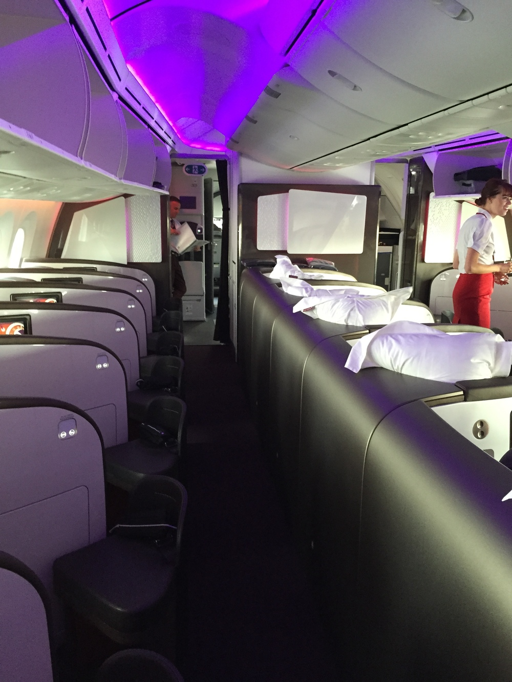 Virgin's 787-9 Upper Class layout. pick a seat on the 'A' side!