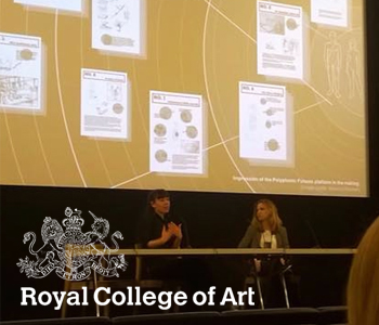 "Q & A PANEL — Royal College of Art (RCA), Critical Historical Studies, 20th Nov 2015 I have been invited by Emily Candela and Dr Livia Rezende to support the Critical Historical Studies (CHS) lecture series ""Critical Agendas"" for the session ""From Meat to Mars: Critical Interventions in Science and Design"". The contribution consisted of a semi- structured Q & A that enabled students insights and active participation, as well as a thinking space on critical Design & Science practice."