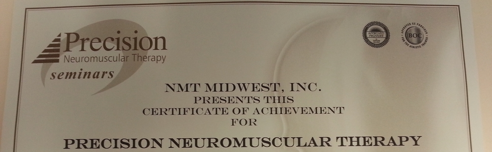 Certification Nmt Midwest