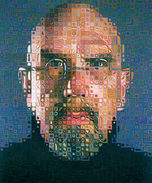 Chuck Close: Self Portrait