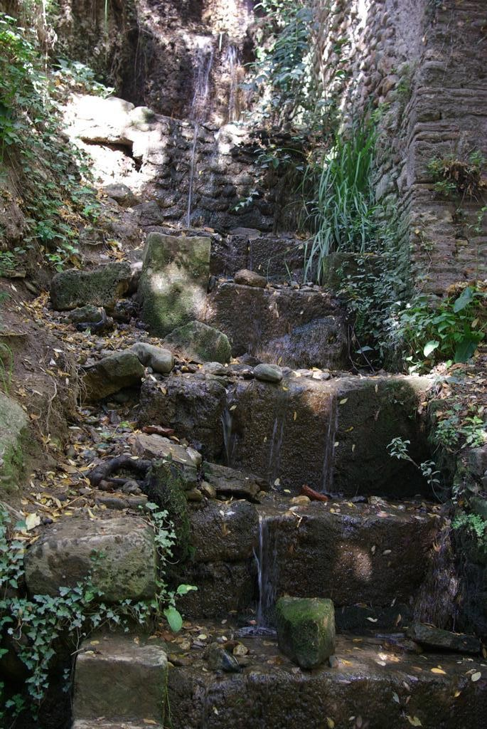 Ornamental Waterfall