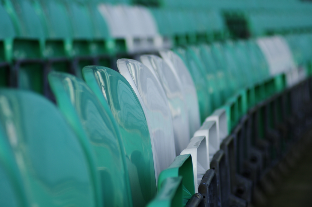 Green and White Seats