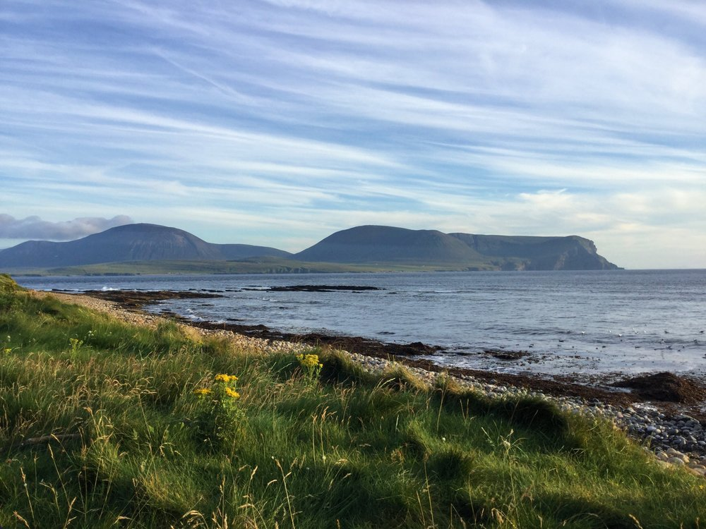 View of Hoy from Mainland Orkney.