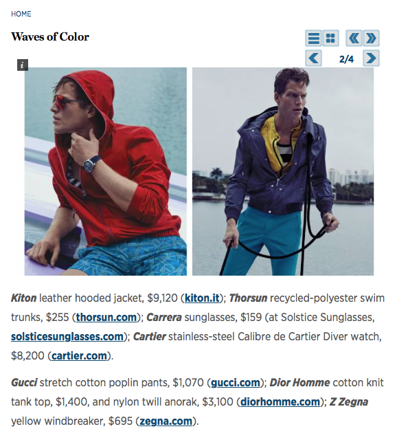 Robb Report, Robb Report Magazine, Waves of Color, Thorsun, Thorsun Swim