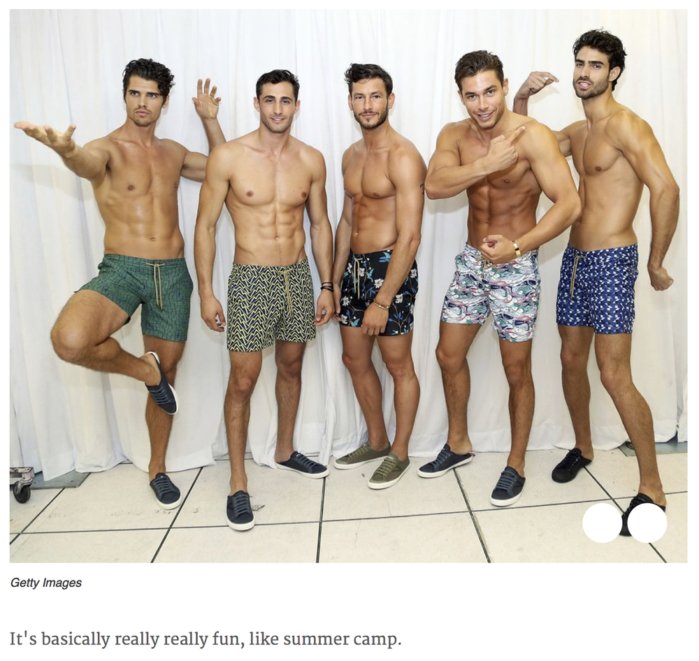 GQ, GQ Magazine, The Truth About Male Modelling, Thorsun, Thorsun Swim