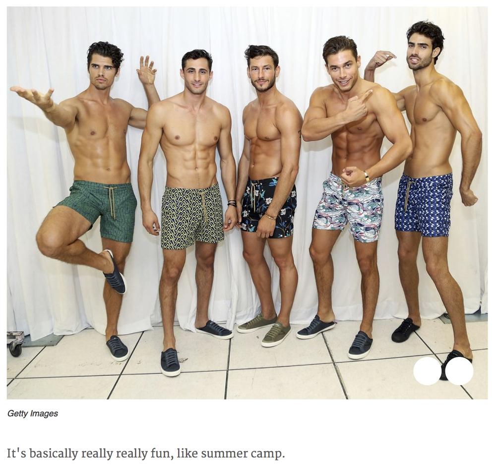 GQ, GQ Magazine, The Truth About Male Modelling, Thorsun, Thorsun Swim
