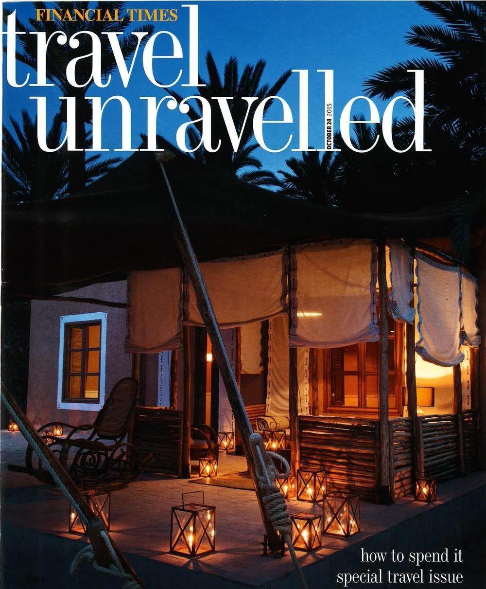 Financial Times, Financial Times: Travel Unravelled, October2015,Swimwear, Thorsun, Thorsun Swim