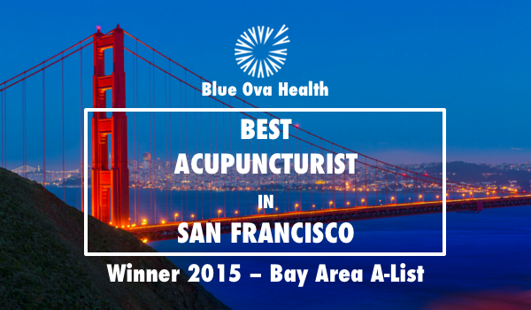 Winner of Best Acupuncturist in San Francisco