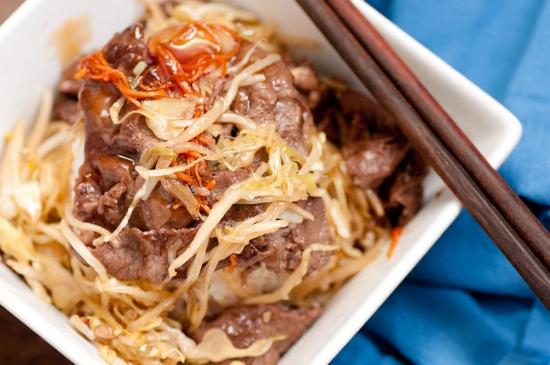 Lean Beef Cabbage Stir-Fry