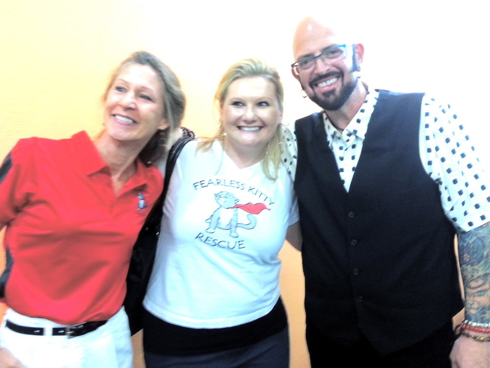 FKR volunteers meet Jackson at his book signing in Phoenix!