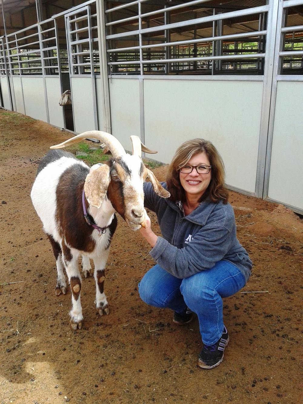 Lorraine and goat.jpg