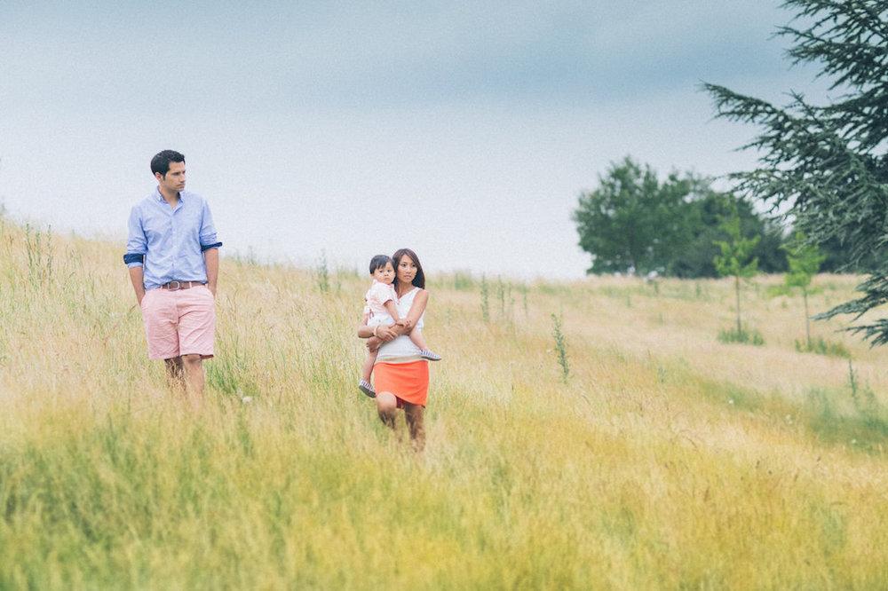 Sophie &Julien - Family session in France