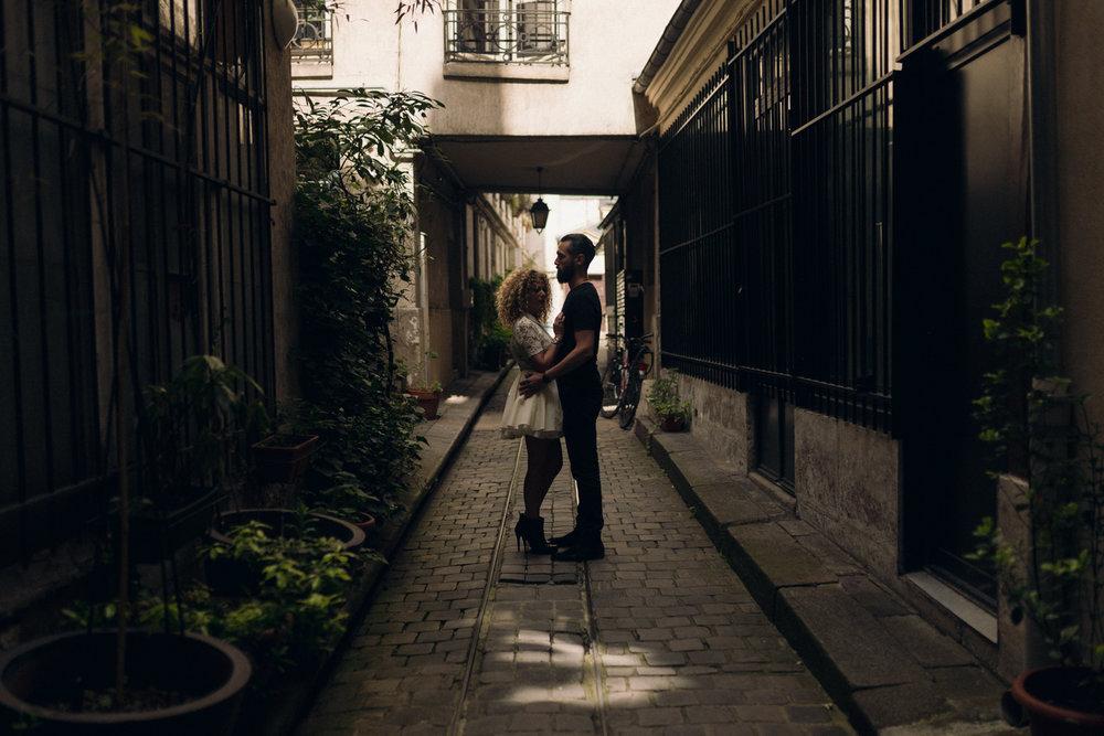 Sarah & Ricardo - Love session in Paris