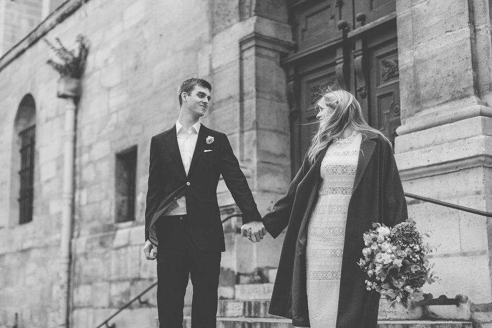 Laure & Jared - Wedding in center of Paris