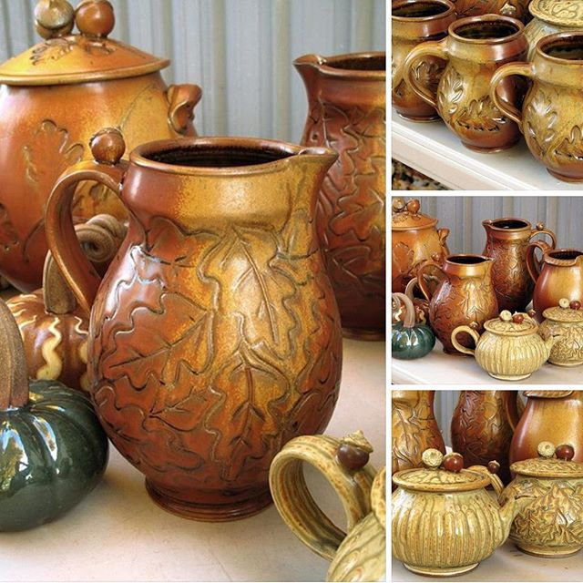 Thrilled to see all the beautiful work John Bauman in booth 11 is bringing!  Just a couple of days before the potters start rolling in #wncpotteryfestival