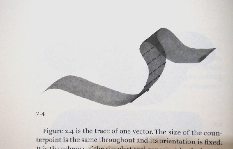 平頭沾水筆尖的因為運行的方向位置補同,就可以營造出筆劃粗細的變化 ©The Stroke by Gerrit Noordzij