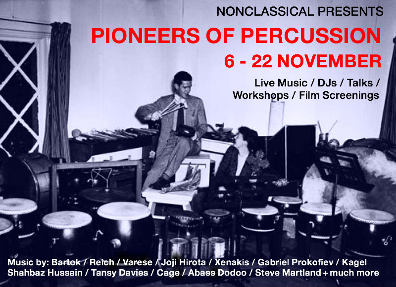 Pioneers of Percussion