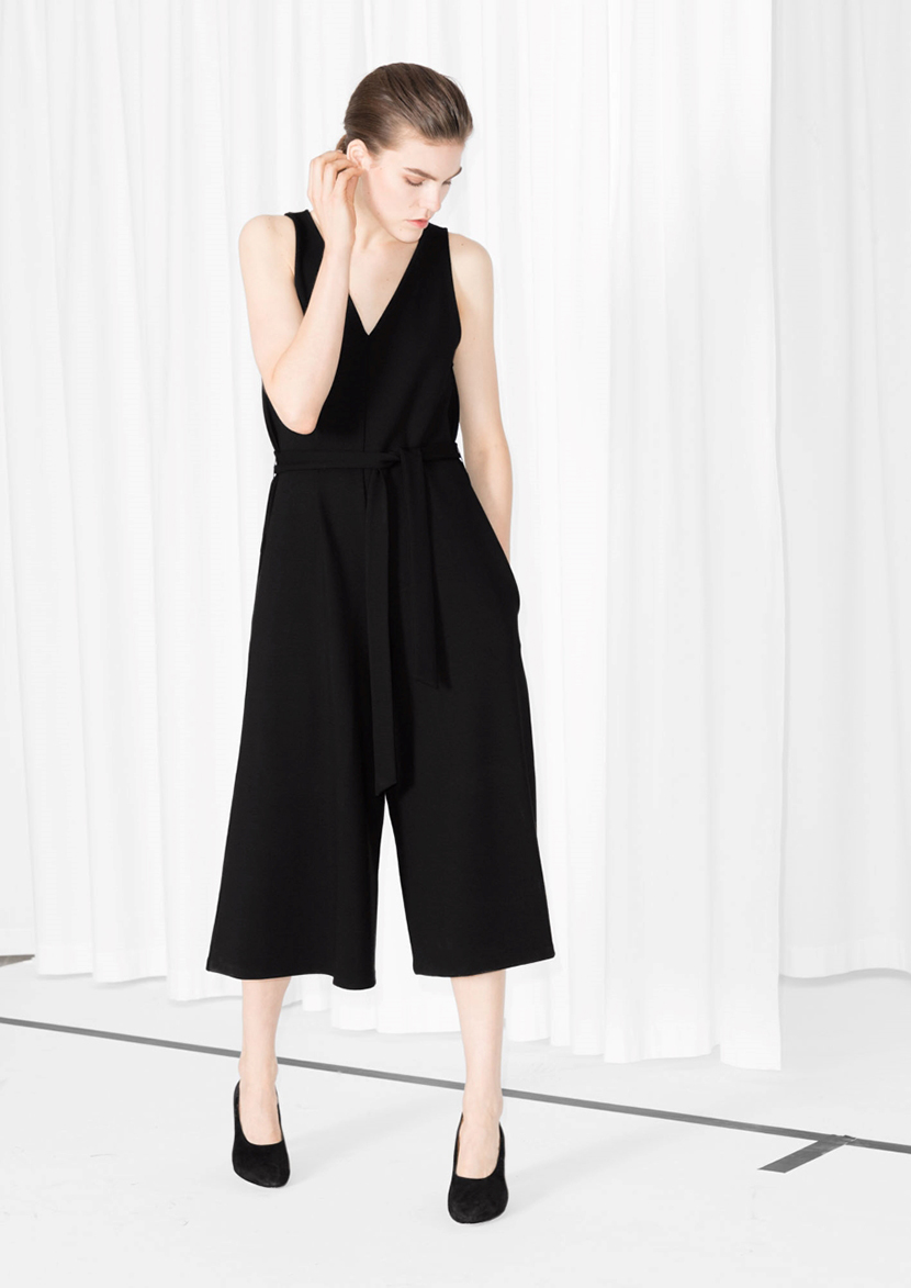 how to wear a jumpsuit comfy culottes
