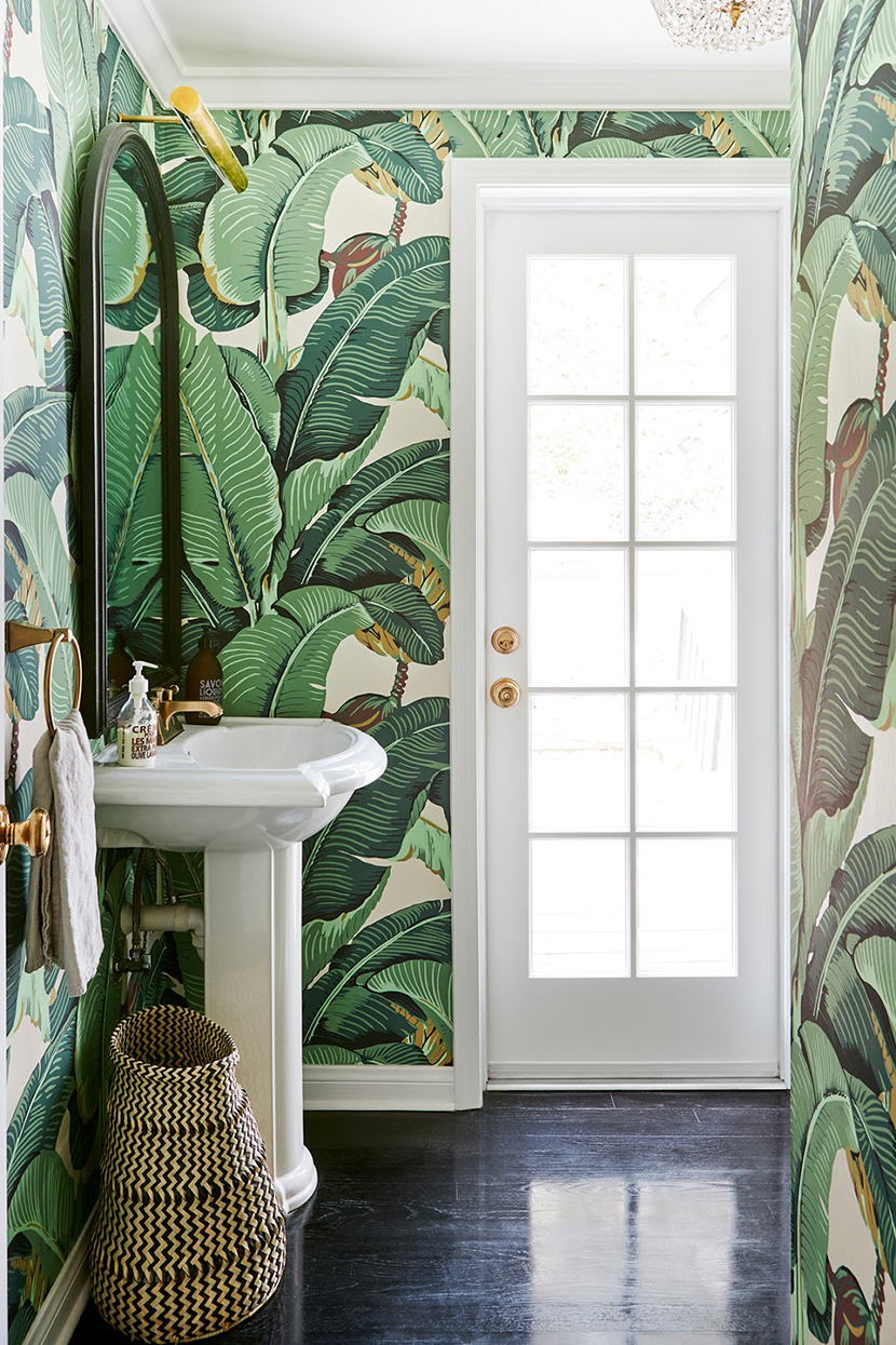 bathroom wallpaper inspiration
