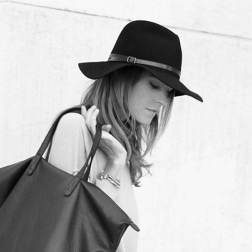 cuyana felt hat fall fashion