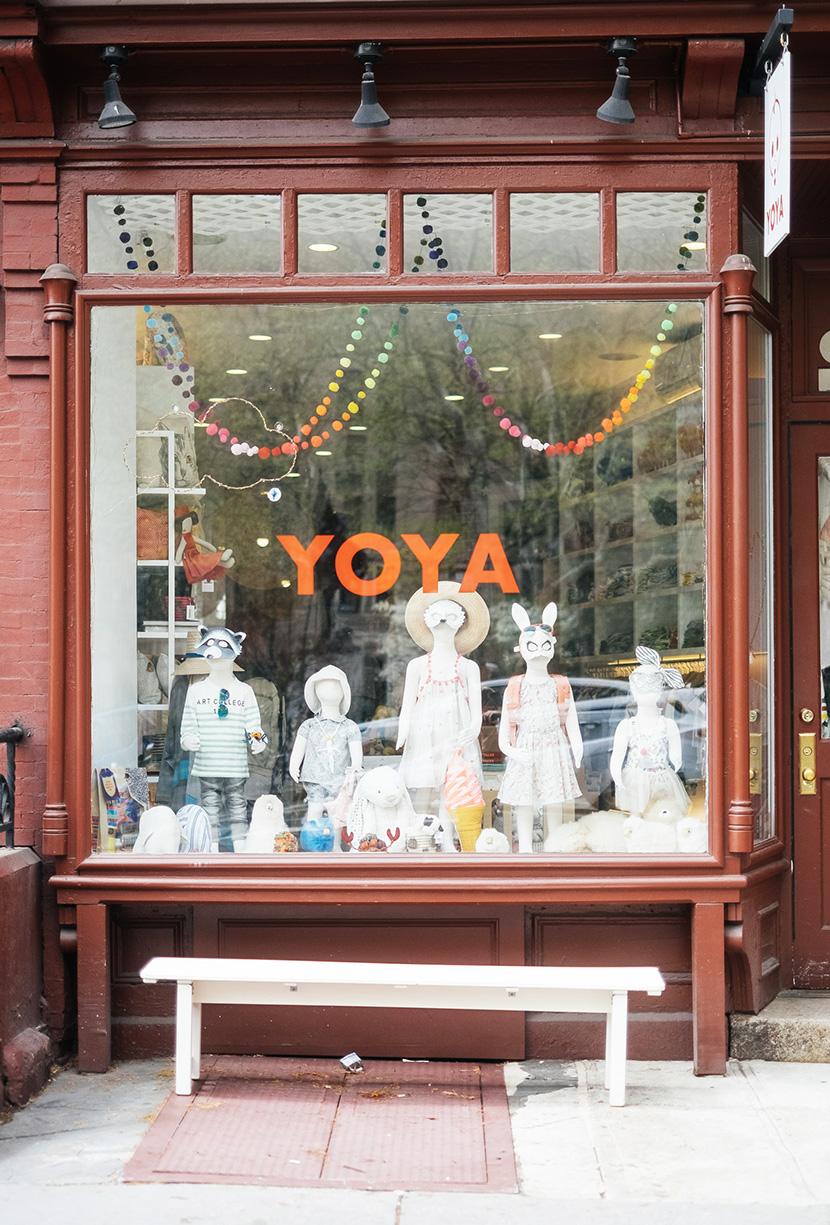 yoya nyc kids store CRISTINA VILLEGAS