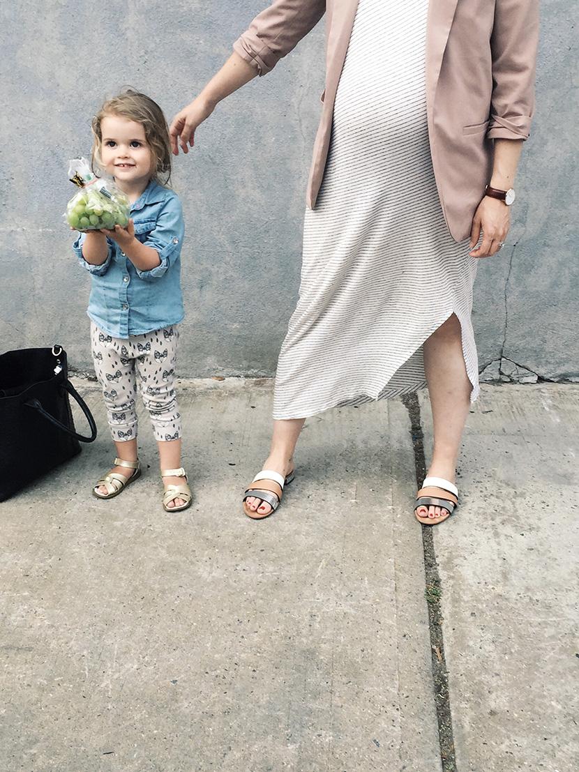 maternity style maxi dress