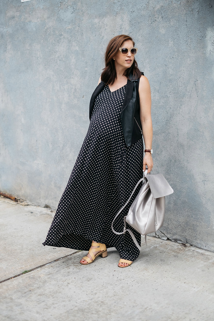 maternity maxi dress fashion