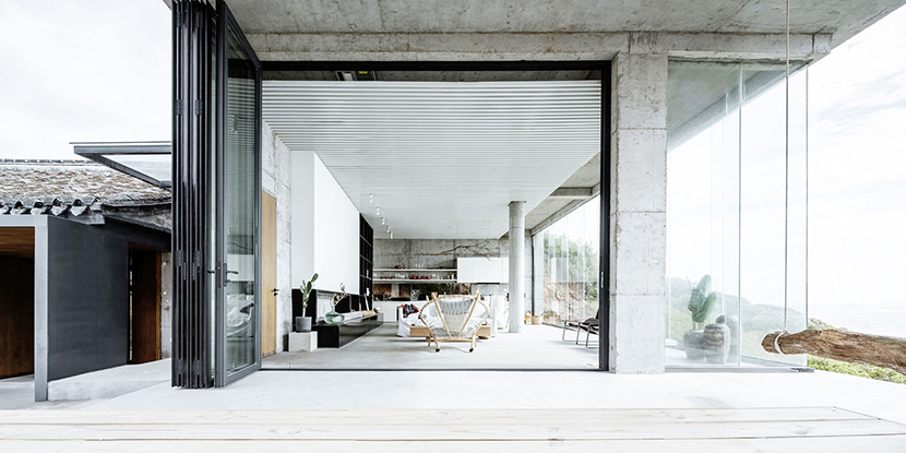 rural concrete home tour