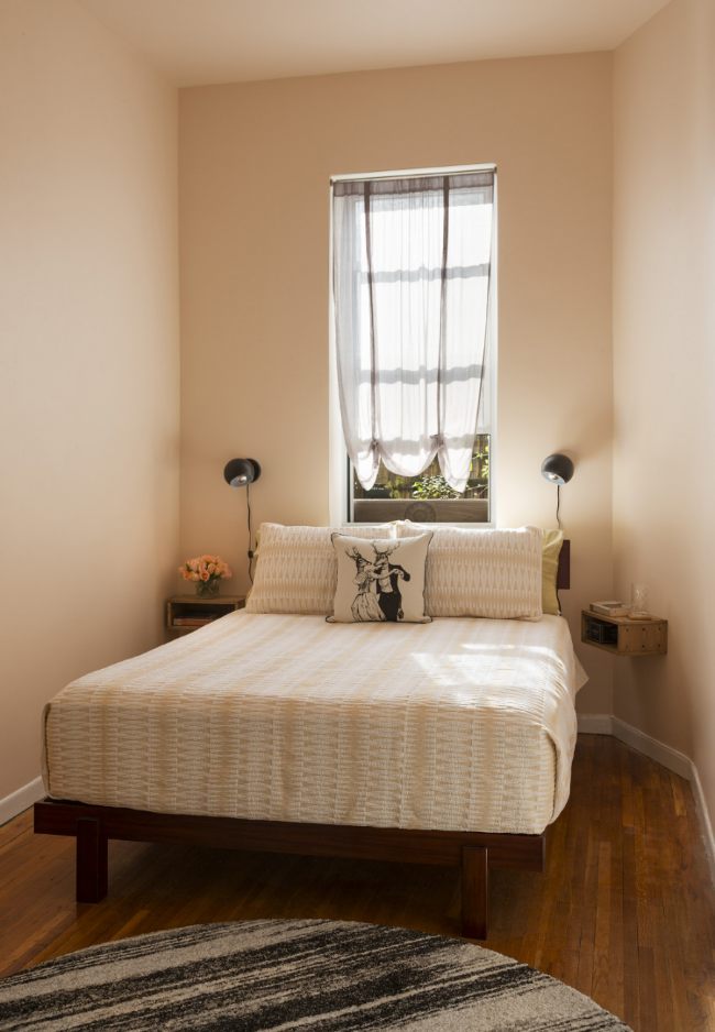 Powdery Bedroom Goodness